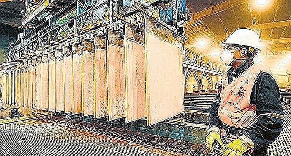 Minería metálica impulsó crecimiento del sector Minería e Hidrocarburos