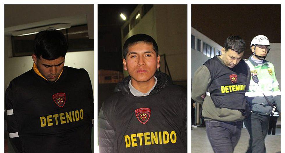 Detienen a tres sujetos tras intensa persecución en Los Olivos (FOTOS Y VIDEO)