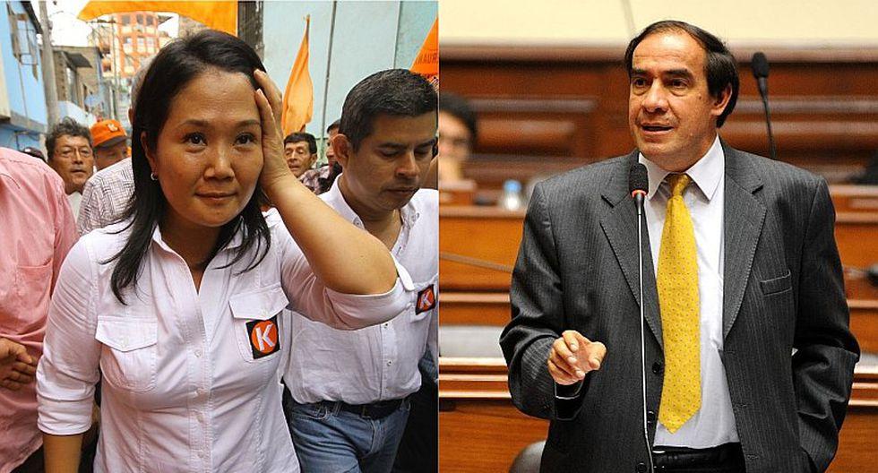 Yonhy Lescano arremete contra Keiko Fujimori tras su llamado a un diálogo nacional