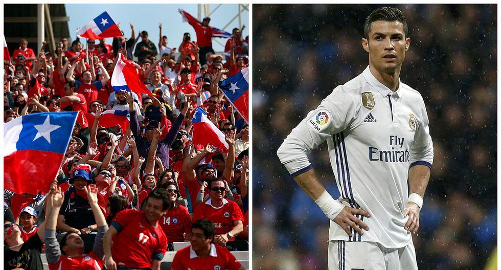"""Chile vs Portugal: """"Ronaldo va a llorar"""", el desafiante mensaje de los hinchas chilenos a CR7"""