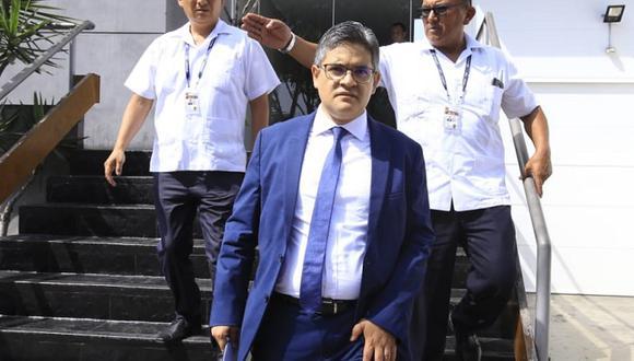 José Domingo Pérez envió sus descargos al coordinador del equipo especial, Rafael Vela. (Foto: GEC)