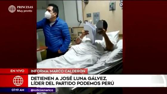 Detienen a José Luna Gálvez líder del partido Podemos Perú Caso Cuellos Blancos del Puerto | POLITICA | CORREO