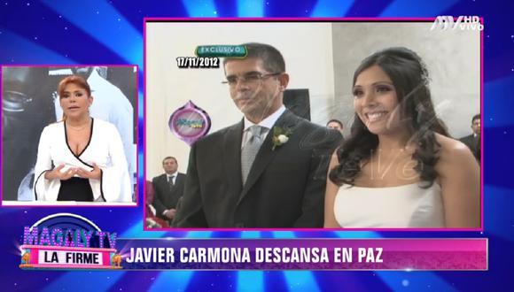 Magaly Medina se pronuncia sobre el fallecimiento de Javier Carmona, esposo de Tula Rodríguez. (Foto: Captura Magaly TV: La Firme)