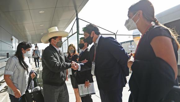 Pedro Castillo en Estados Unidos. Foto: Presidencia de la República