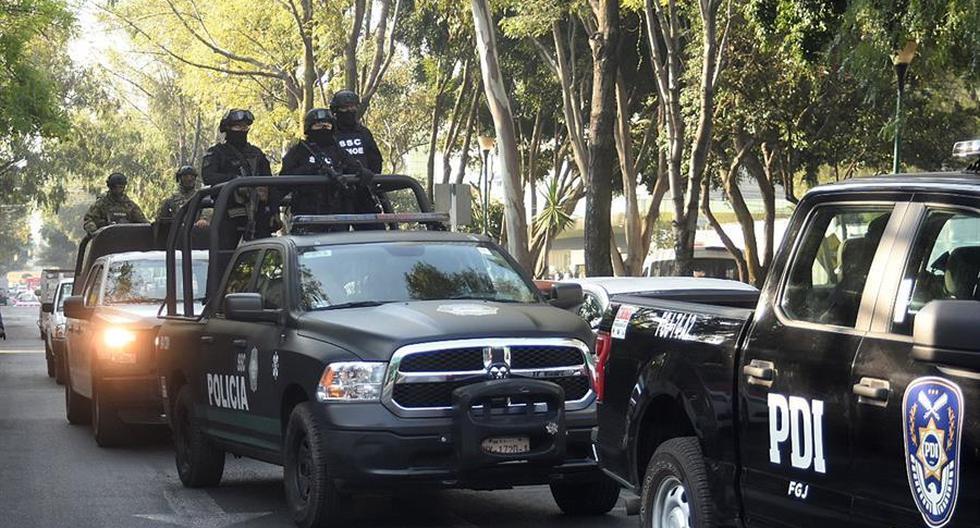 Imagen referencial de la policía en México. (EFE/Mario Guzmán).