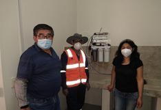 Donan equipo para investigar tratamiento de metales pesados