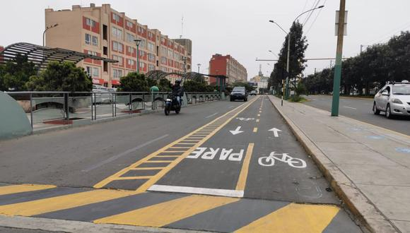 El proyecto de ciclovías en San Borja apunta a consolidar un proyecto de transporte intermodal, conectado e inclusivo. (Difusión)