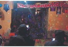 Chimbote: Intervienen a 35 personas en una fiesta