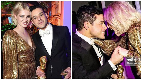 Rami Malek y Lucy Boynton, actores de 'Bohemian Rhapsody', contraerán matrimonio