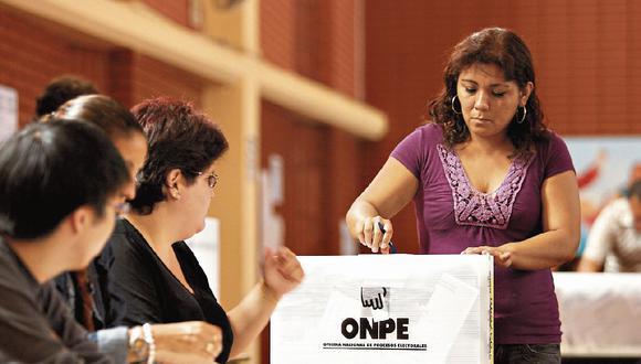 La ONPE dispuso que se extienda el plazo para solicitar una excusa al cargo de miembros de mesa hasta este sábado. (Foto: GEC)