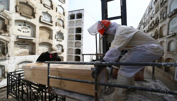 La cantidad de fallecidos aumentó este martes 13 de abril, informó el Minsa (Foto: GEC)
