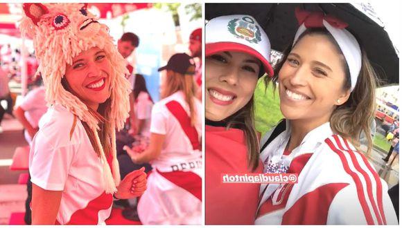 Anna Carina Copello comparte romántica foto en pleno estadio donde se jugó el Perú vs Francia