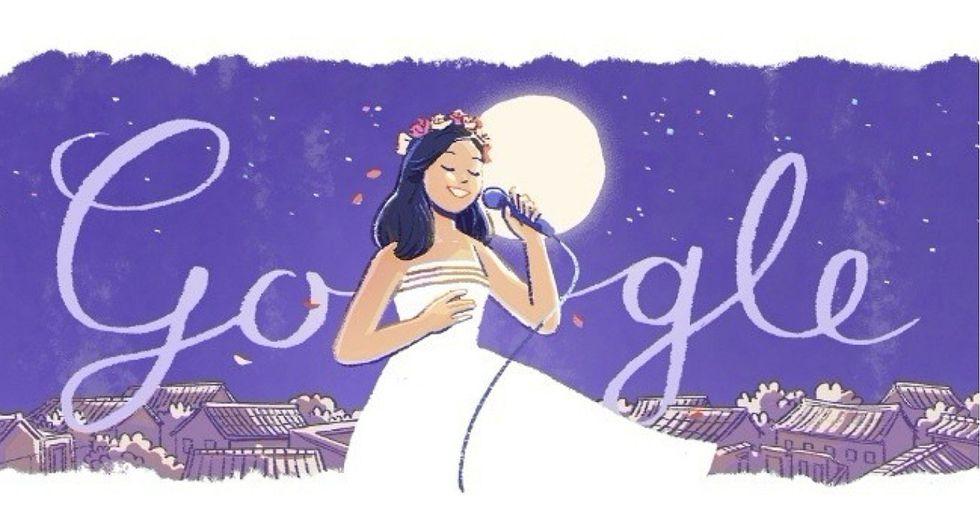 Google celebra a Teresa Teng, la voz más privilegiada de Asia (FOTO Y VIDEO)