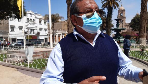 Consejero regional de Tacna Arnold Condori Cutipa. (Foto: Correo)