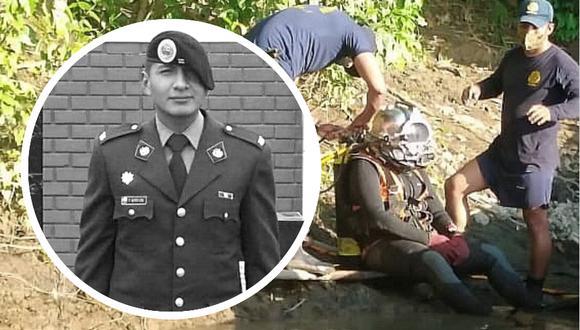 Cusco. Buzos hallan restos de capitán EP Fabrizzio Soto