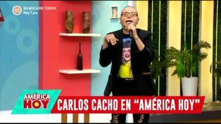 """Carlos Cacho sobre Christian Cueva: """"Ese es un corriente para mí"""" (VIDEO)"""