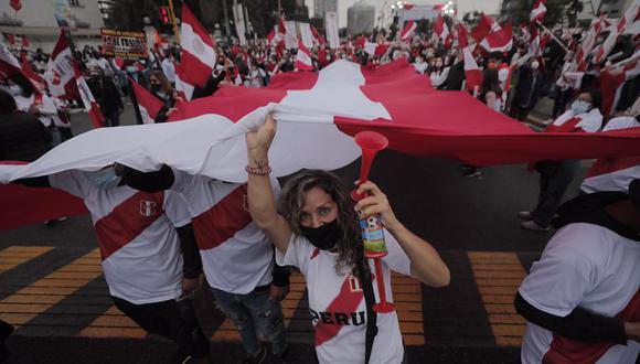 Marcha contra el gobierno de Pedro Castillo se realizará este domingo.