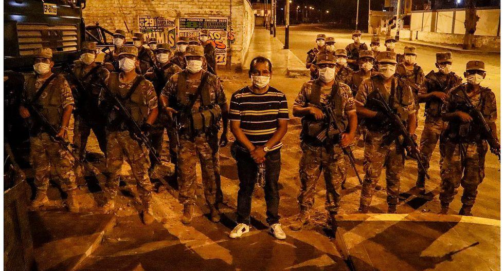 Cartavio: 50 detenidos en octavo día de toque de queda (FOTOS)
