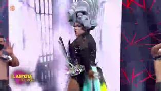 'Choca' Mandros se transformó en Drag Queen y cautivó al jurado de 'El Artista del Año' (VIDEO)