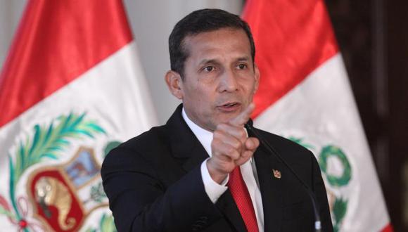 """Ollanta Humala se parcializa respecto a la llamada """"concentración de medios"""""""
