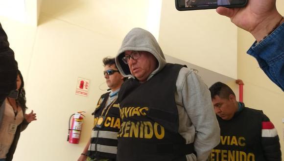Coronel Richard Talavera Fuentes, exjefe de Inspectoría de la Policía seguirá con arresto domiciliario  Foto: GEC