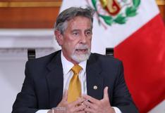 """Francisco Sagasti pide candidatos presidenciales """"que invoquen a la calma"""""""