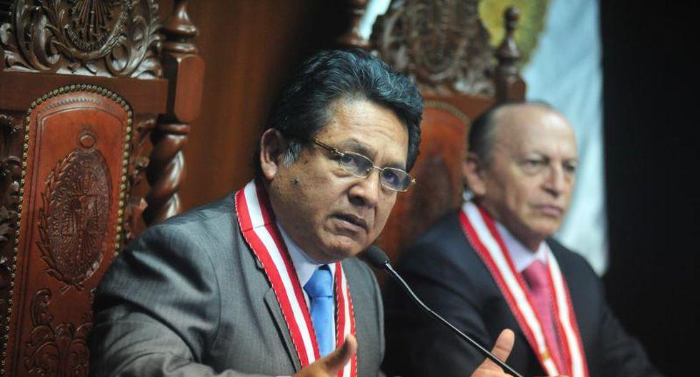 Carlos Ramos Heredia no irá al Congreso