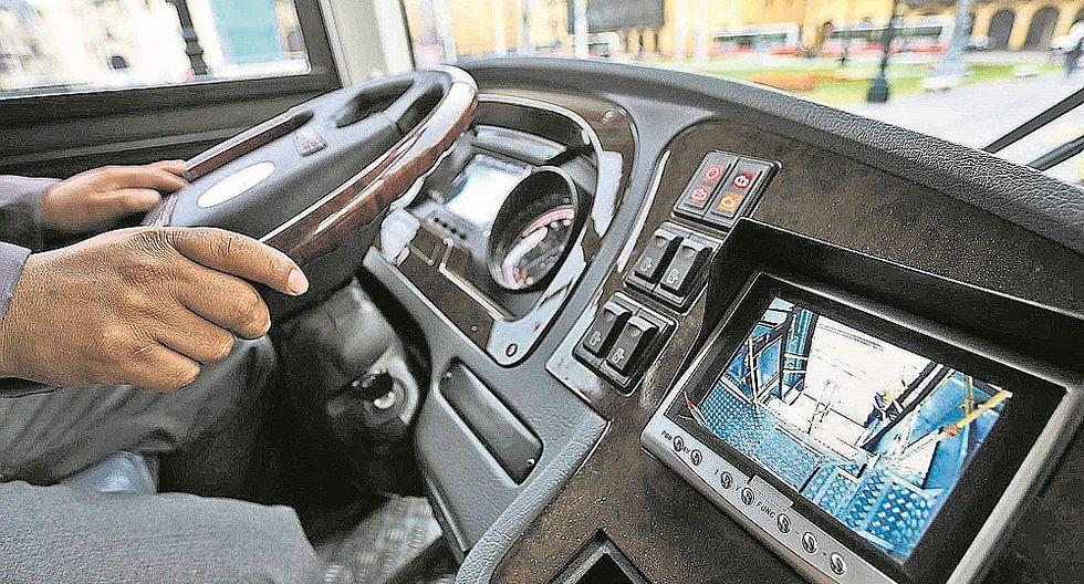 Buses del corredor Javier Prado incorporan cámaras de video para dar seguridad