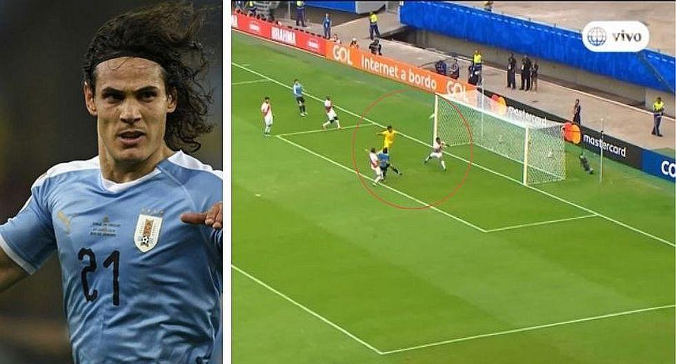 Perú vs. Uruguay: El gol increíble que falló Cavani (VIDEO)