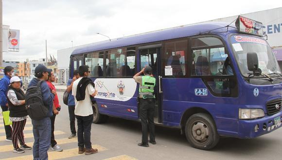 Para este fin se usarán los saldos de los más de 10 millones enviados por el Gobierno central destinados al transporte púbico. (Foto: Correo)