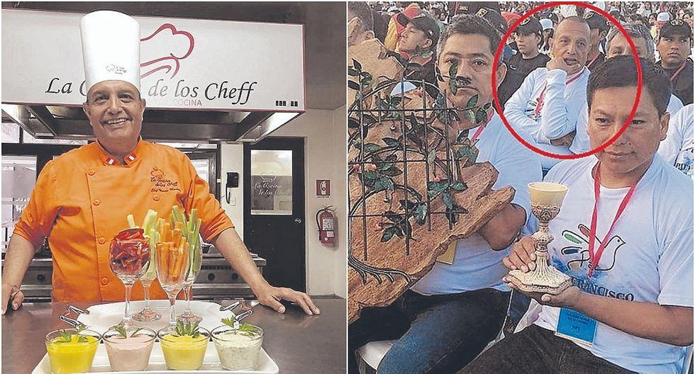 Martín Mantilla se libera en la cocina