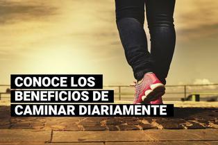 5 beneficios de caminar a diario