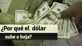 Estos son los factores que determinan la subida o bajada del dólar