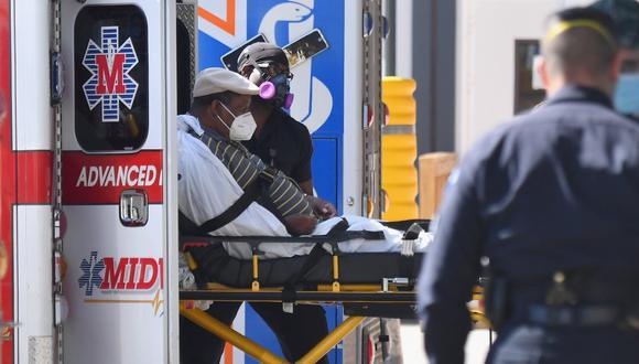 Pese a que Nueva York ya no es el estado con un mayor número de contagios, sí sigue como el más golpeado en cuanto a muertos en Estados Unidos con 33.316, cifra parecida a Perú, España o Francia. (Foto: Angela Weiss / AFP)