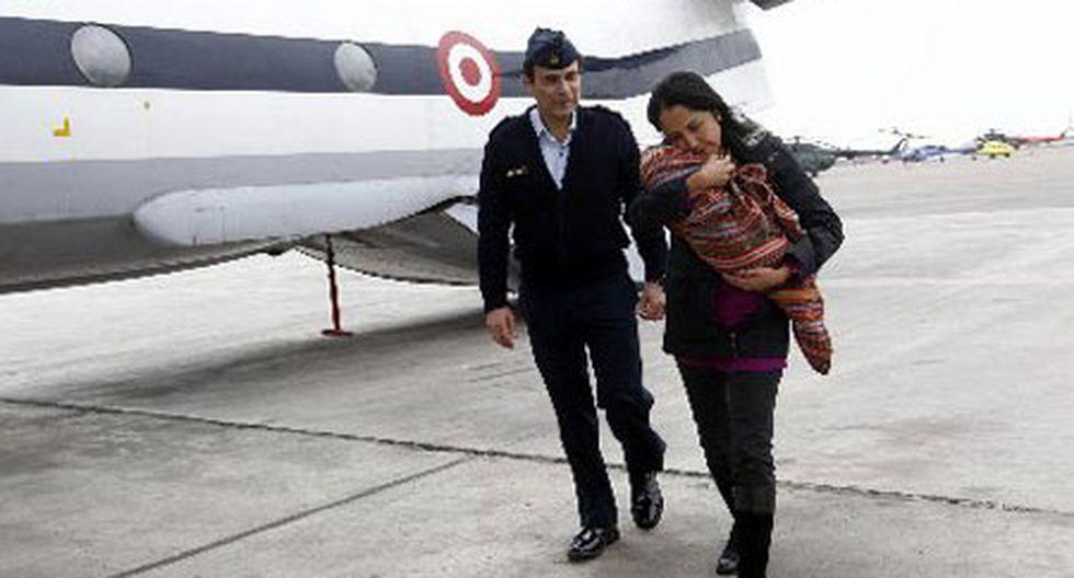 Nadine Heredia y ministra Jara recibieron a niños rescatados de Sendero