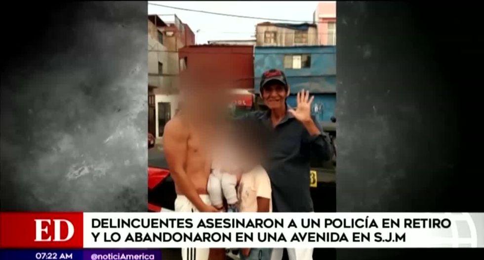 Francisco Villa Delgado, un policía en retiro que brindaba servicio de taxi, fue hallado muerto la madrugada del sábado. (Foto captura: América Noticias)