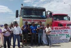 Transportistas de carga y buses acatarán paro a partir del 16 de marzo