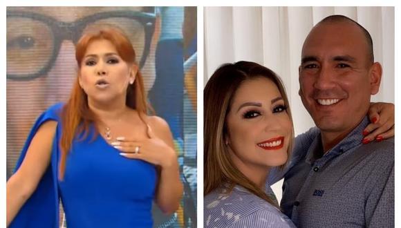 Magaly Medina habló sobre el matrimonio de Tarazona y Fernández. Collage: Correo / GEC
