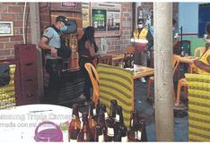 Tumbes: Intervienen a 17 personas en un bar clandestino en Papayal