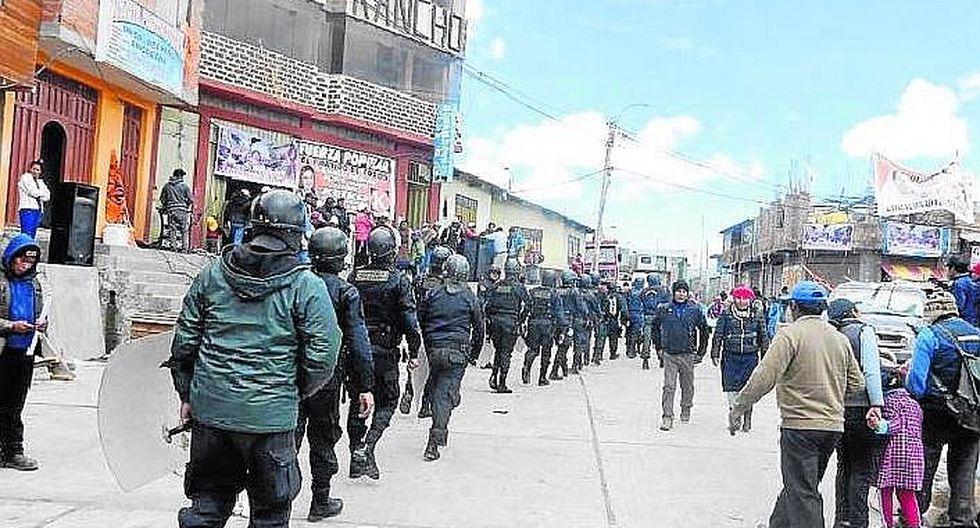 Juliaca: ante la creciente delincuencia mineros acuerdan pedir emergencia