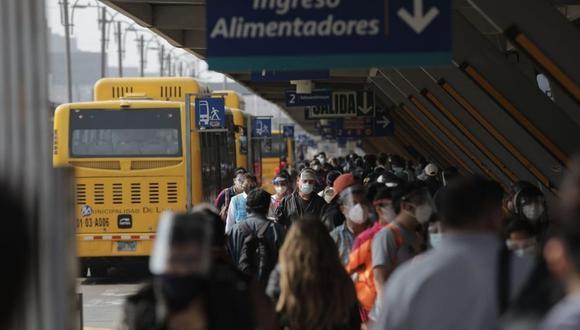 La ATU indició que el Ejecutivo aplicará un plan de contingencia a fin de que los usuarios no se vean afectados en caso de que se suspenda el servicio.  (Foto: Anthony Niño de Guzmán / @photo.gec).