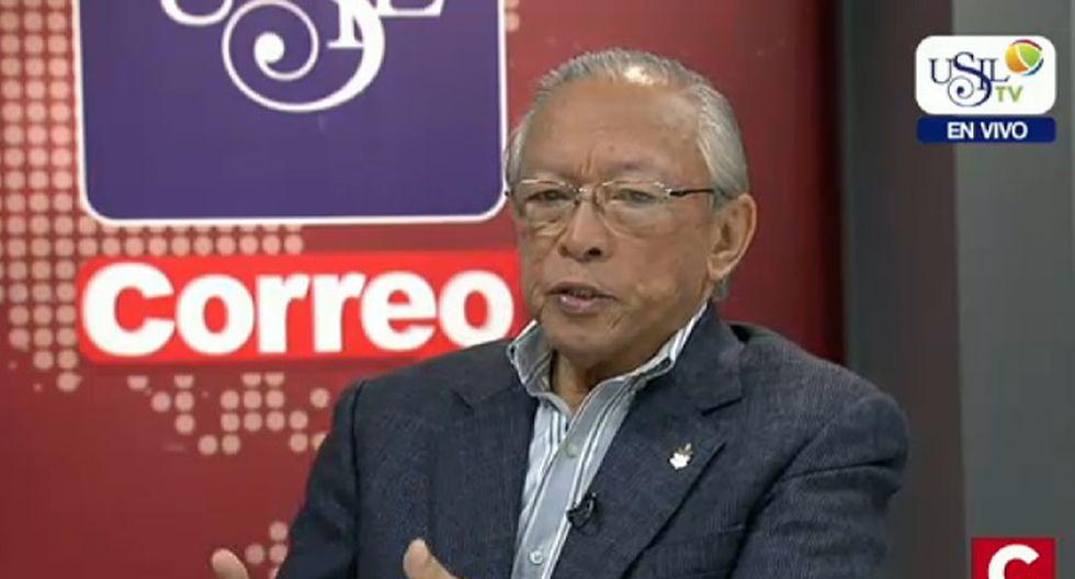 Humberto Lay: el narcotráfico está en todos los partidos y quiere entrar al Congreso