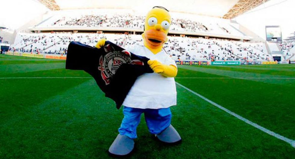 Corinthians firmó contrato con Los Simpsons