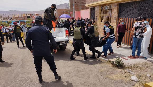 La pobre víctima hace seis meses había perdido a su esposo Martín Alosilla, víctima de la COVID-19. (Foto: Diario Correo)