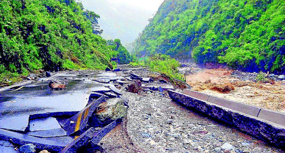 Sierra Central en emergencia por lluvias