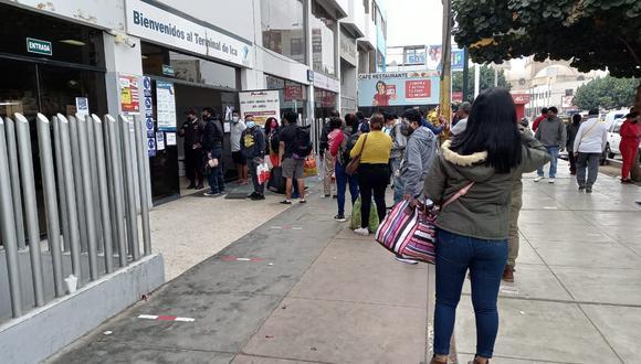 Ica: aumenta el precio de pasajes de la ruta hacia Lima.