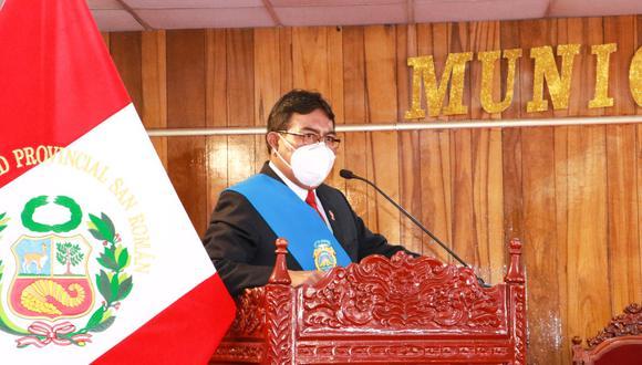 Alcalde de la ciudad de Juliaca, San Román.