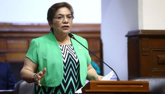 Martha Chávez, congresista de Fuerza Popular, confirmó la noticia del fallecimiento de Domingo Paredes (Foto: Congreso de la República)