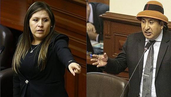 Momento de tensión en Pleno del Congreso por discusión entre Yeni Vilcatoma y Richard Arce (VIDEO)