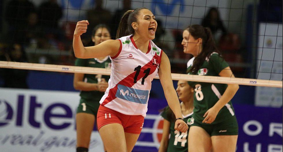 Selección peruana de voley venció a México y disputará la final Copa Panamericana Sub 23